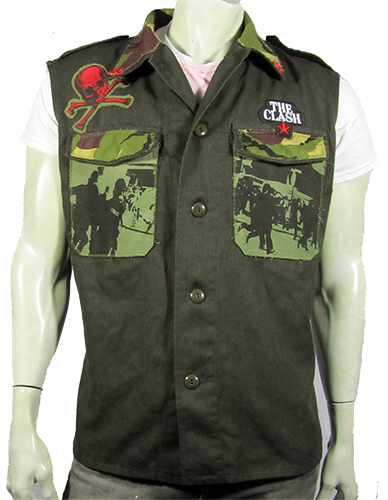 Hammersmith Palais green army jacket front view